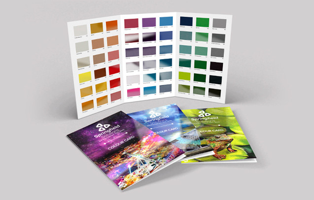 Digital Colour Cards