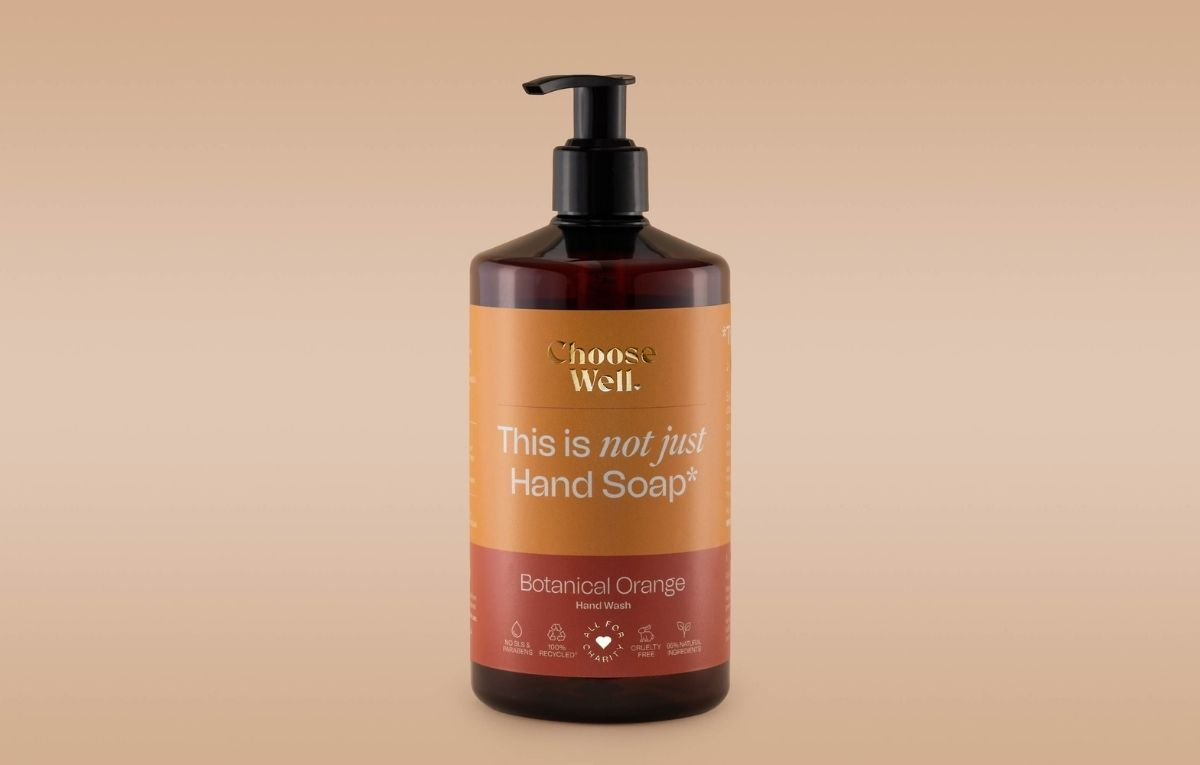 Hand soap labels